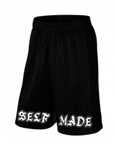 SELF MADE BLACK SHORTS