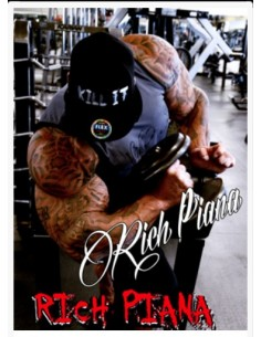 RICH PIANA POSTER - BICEP CURL