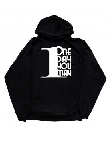 1DAYUMAY HOODIE BLACK WITH