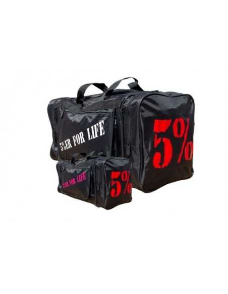5% WELCOME TO MY WORLD GYM BAG